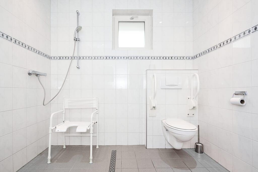1 invalide toilet en 1 invalide douche